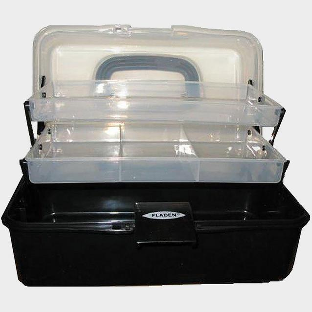 White FLADEN Fishing Cantilever Box 2 Tray [M] image 1