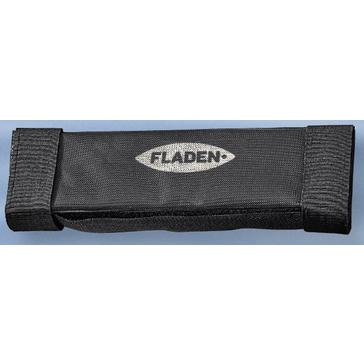 Black FLADEN Fishing Velcro Rail And Rod Holder