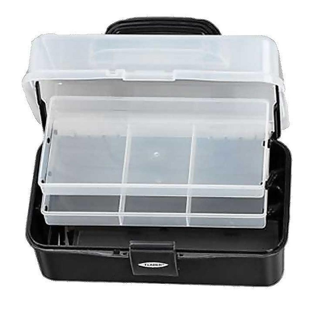Black FLADEN Two-Tray Cantilever Box (Small) image 1