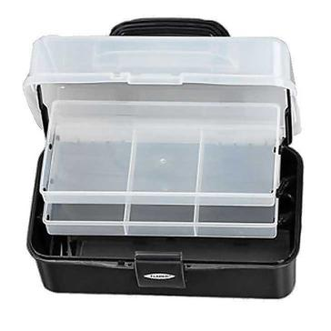 Black FLADEN Two-Tray Cantilever Box (Small)