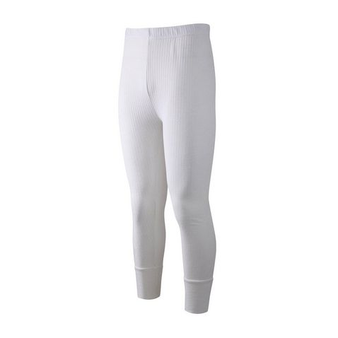 0a9571a518b9 White HI-GEAR Long John Thermal Baselayer Leggings (Unisex)