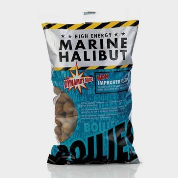 NOCOLOUR Dynamite Marine Halibut Boilies 15mm 1Kg