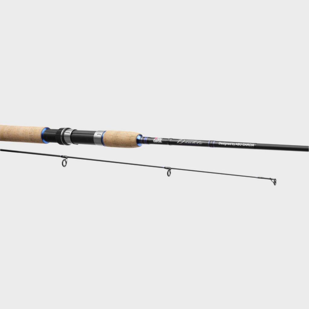 Black Pure Fishing Abu Garcia Devil 8ft Spin Rod image 1