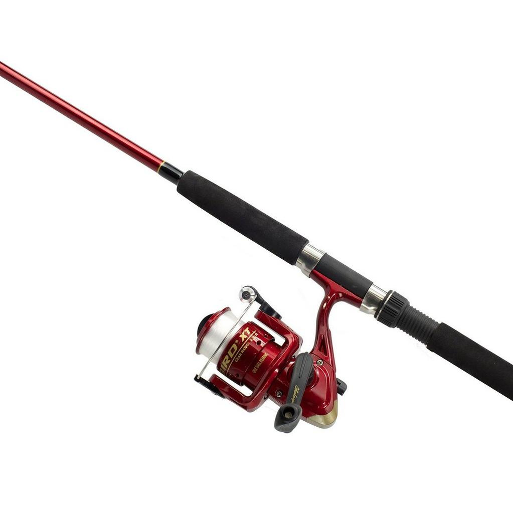 Red Shakespeare Firebird II Rod and Reel Combo image 1