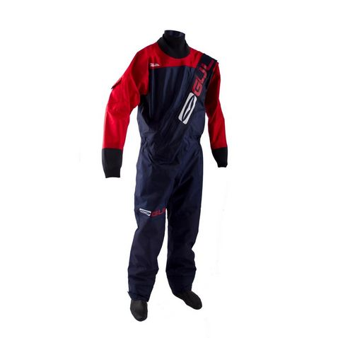 958e677e NAVY-RED GUL Gamma Front Zip Drysuit ...