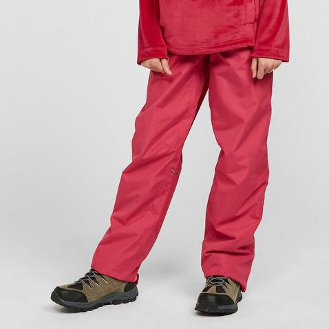 cd3ae74ba Pink HI-GEAR Typhoon Children's Waterproof Overtrousers (ages ...