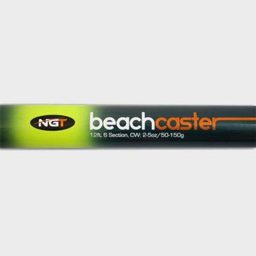 Black NGT 12Ft Tele Beachcaster