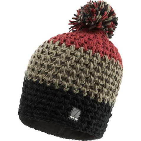 ade3c6537f4ec6 BLACK-SYRAH THE EDGE Filey Bobble Hat