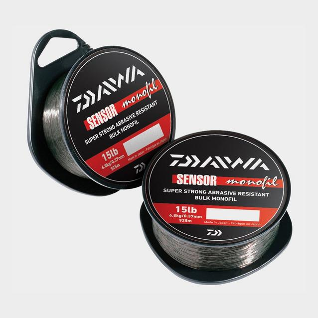 Black Daiwa Sensor Monofil 3Lb 300M image 1