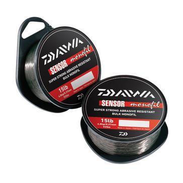 Black Daiwa Sensor Monofil 3Lb 300M