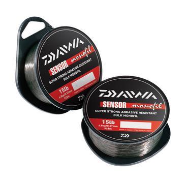 Black Daiwa Sensor 300M Mono 4Lb