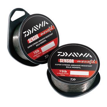Black Daiwa Sensor 300M Mono 12Lb