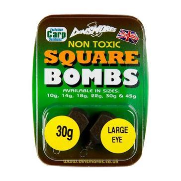 Black Dinsmores Square Bombs Non-Toxic 33