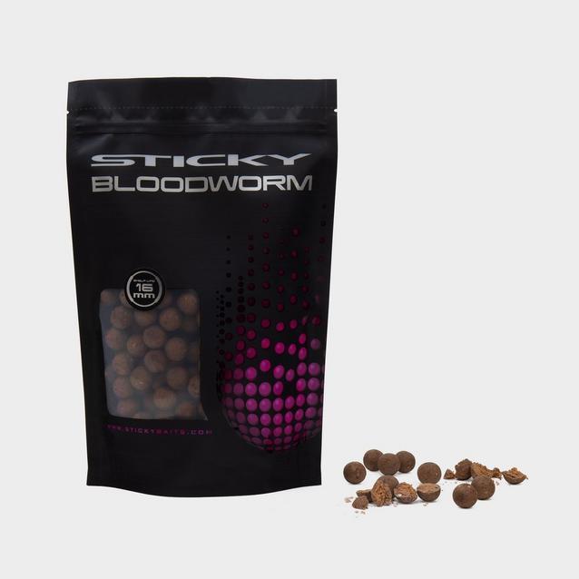 Brown Sticky Baits Bloodworm 16Mm 1Kg Shelf image 1