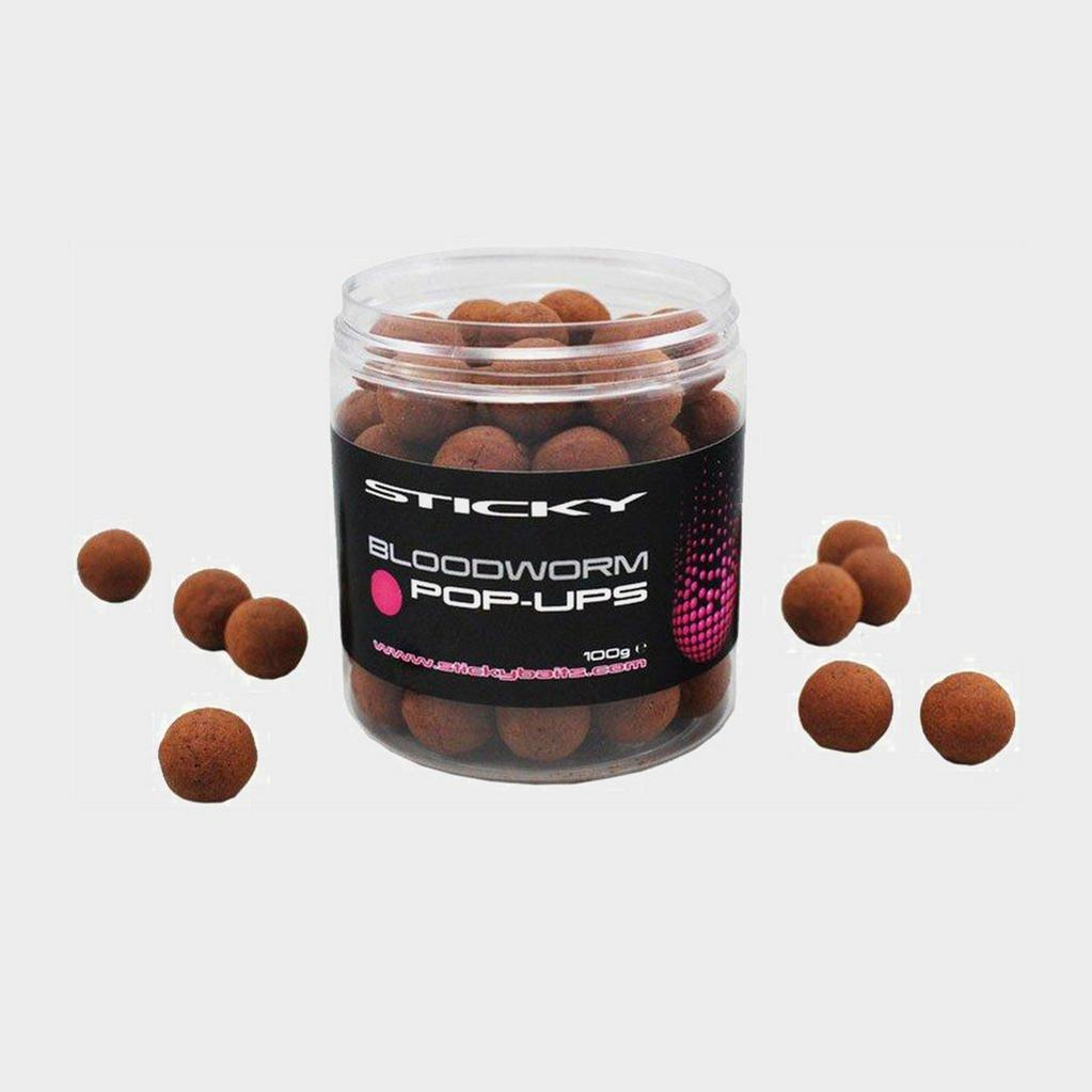 Brown Sticky Baits Bloodworm Pops 12Mm image 1