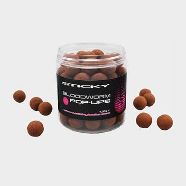 Brown Sticky Baits Bloodworm Pops 12Mm