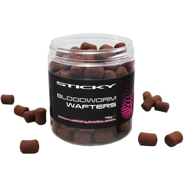 Multi Sticky Baits Bloodworm Wafters image 1