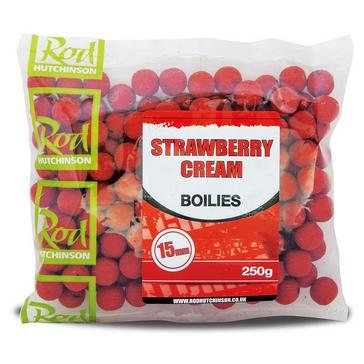 Red R Hutchinson Strawberry Cream Boilies 15mm 250g