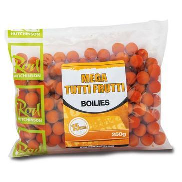 Orange R Hutchinson Mega Tutti Frutti Boilies 15mm 250g