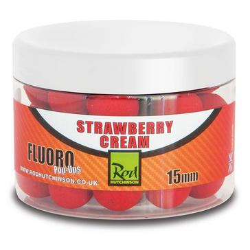 Red Rod Hutchinson Fluoro Pop Ups 15mm Strawberry Cream
