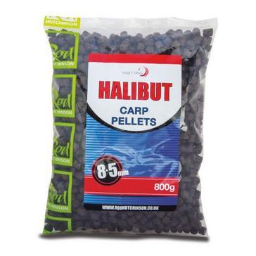 Black Rod Hutchinson Branded Halibut Pellets