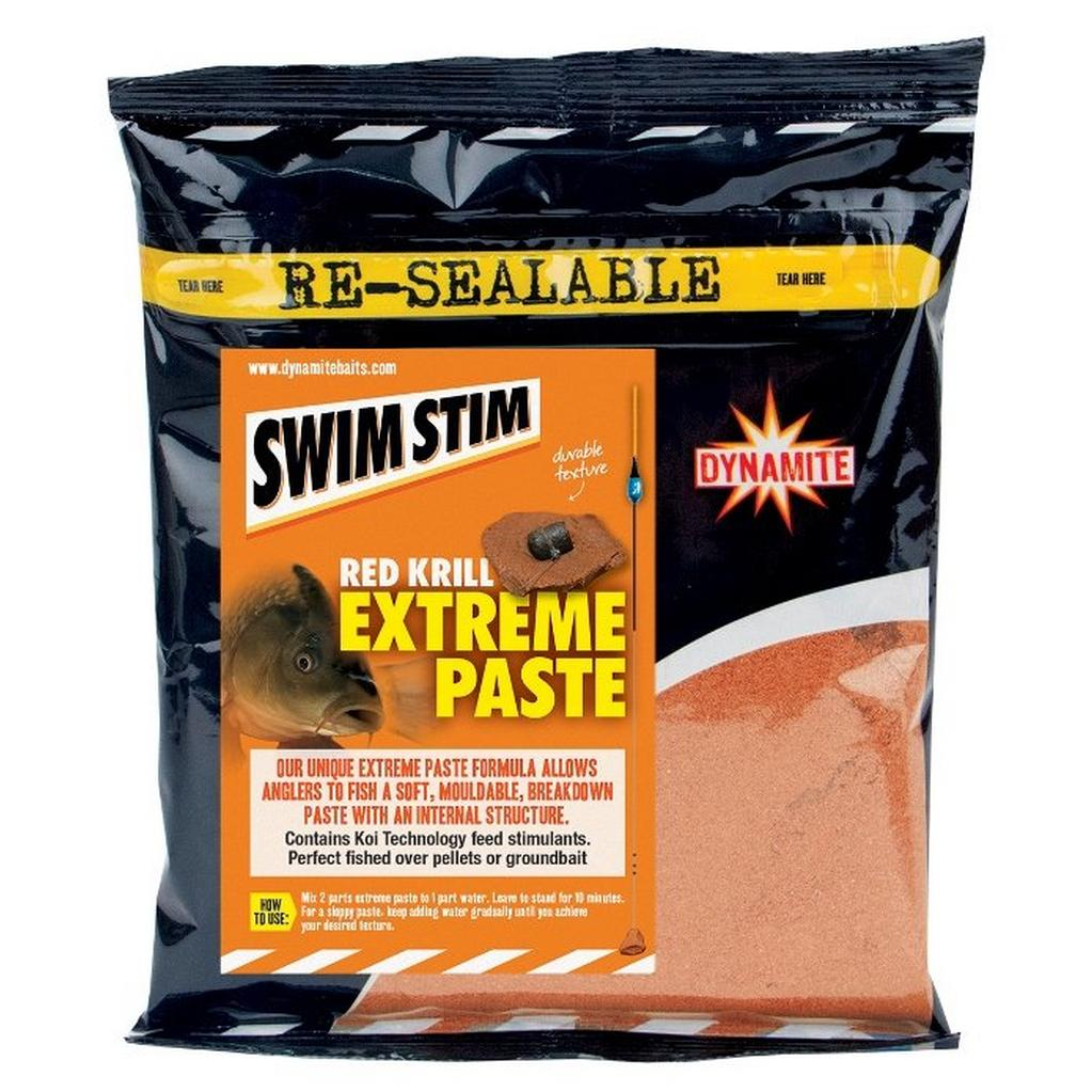 Brown Dynamite Swim Stim Paste Red Krill image 1