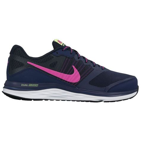 2d482bfd118 Navy-Pink Nike Dual Fusion X Women s Running Shoes ...