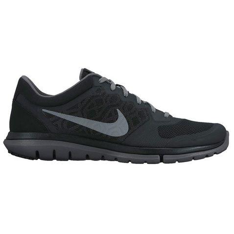 a08aa8bb1f84 Black-Grey Nike Flex Run 2015 Men s Running Shoes ...