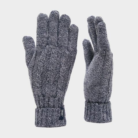 d75c07584d1e6 NAVY TWIST HEAT HOLDERS Ladies' Thermal Gloves
