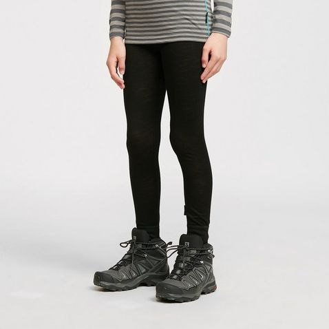 cc706be5 Black HI-GEAR Kids' Merino Long Johns ...