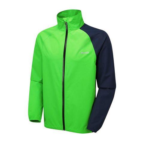 27507184e IRIS-FLUO GREEN ZUCCI Men's 2.5 Waterproof Cycling Jacket ...
