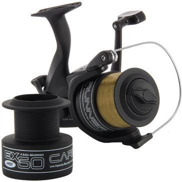 Black NGT Ex60 4BB Dual Handle Carp Runner Reel (10lb line)