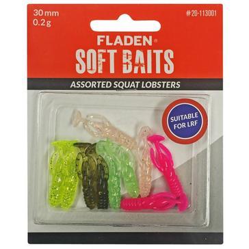 Multi FLADEN Fishing 10Pk Ass Squat Lob 3Cm 0 2G