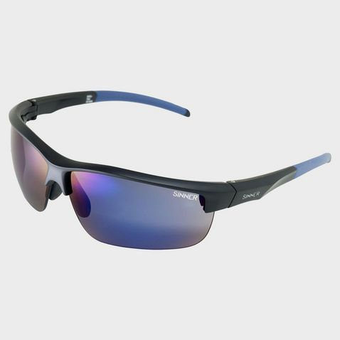 25b24a132 Matte Black SINNER Antigua Sport Sunglasses (Black/Interchangeable) ...