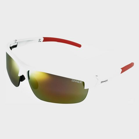 853dfbff0 WHITE RED SINNER Antigua Sport Sunglasses (White/Interchangeable) ...