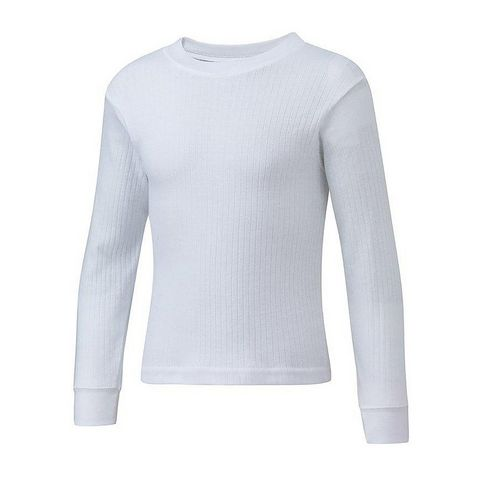 a102a64aa White FREEDOMTRAIL Kids' Thermal Baselayer Long Sleeved Top (ages ...