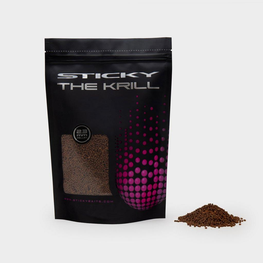 Brown Sticky Baits Krill Pellet 6Mm 900G image 1