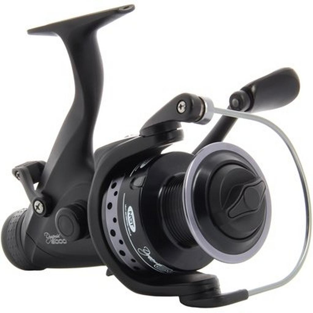 Black NGT Dynamic 6000 Deluxe Carp Reel image 1