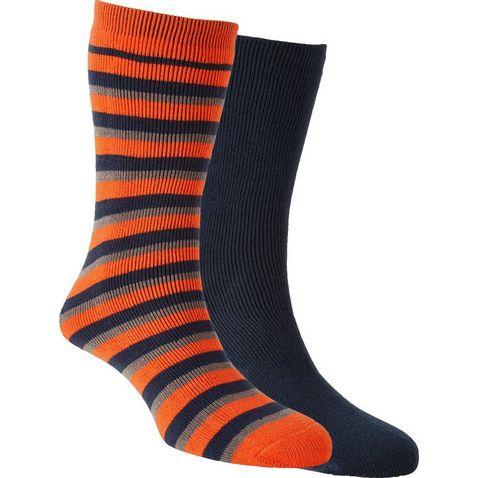 0b0d5dabc BLACK IRIS|Turquoise THE EDGE Kids' Thermal Parallel Socks