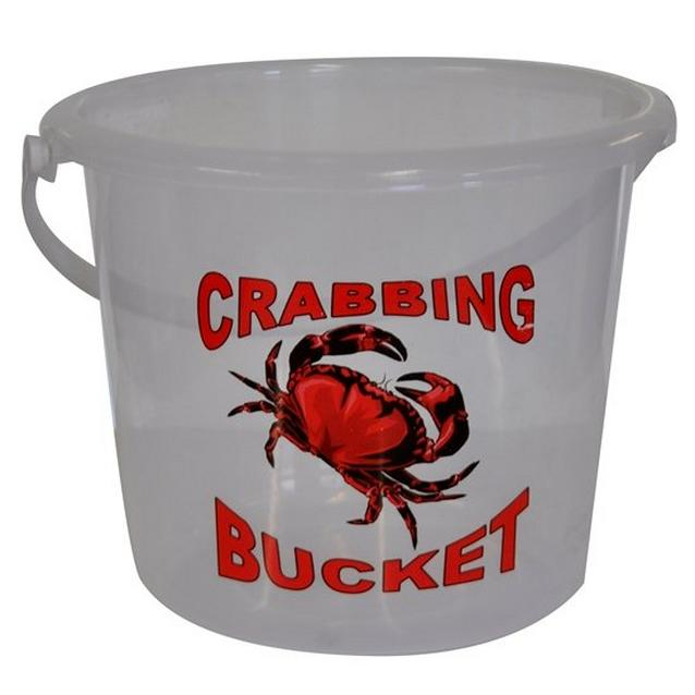 Clear BlueZone 5-Litre Crabbing Bucket image 1
