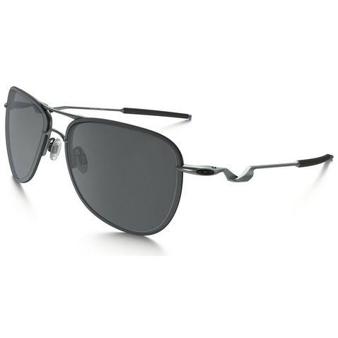 5b6fd44d4eb76 Lead OAKLEY Tailpin Sunglasses (Lead  Black Iridium) ...