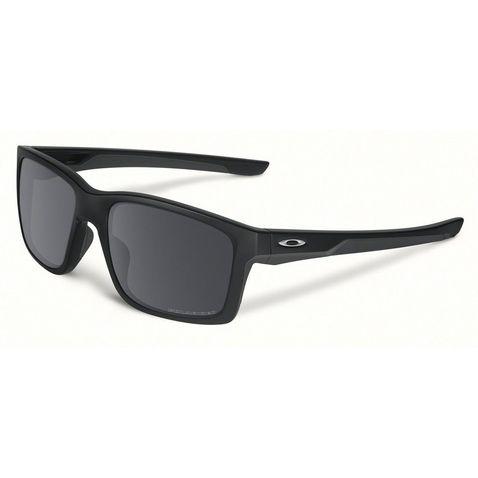 5c80d3cad Matte Black OAKLEY Polarised Mainlink Sunglasses (Matt Black / Iridiu