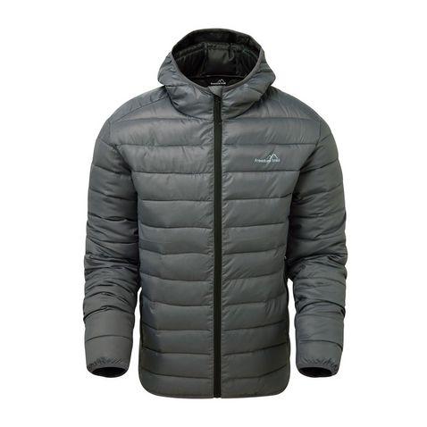 0c665b145ab84 IRON-BLACK FREEDOMTRAIL Men's Essential Baffled Jacket ...