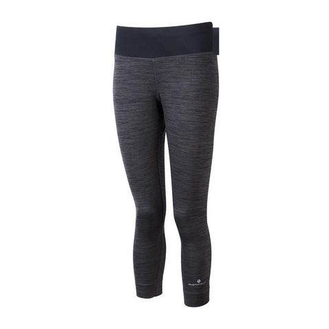 0b710c1fd35dd CHARCOAL MARL RONHILL Women's Aspiration Victory Crop Tight ...