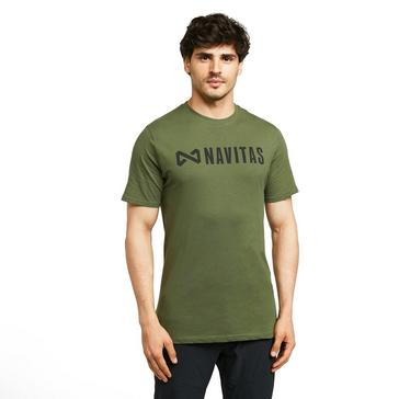 Green Navitas Men's Core Jogga T-Shirt