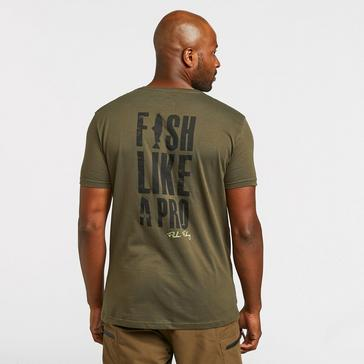 Green FLADEN Men's Hungry Pike T-Shirt