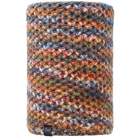 f426f129057 MARGO ORANGE BUFF Airon Knitted   Polar Fleece Hat (Melange Grey)