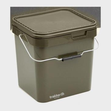 Green Trakker 17 Ltr Olive Square Bucket