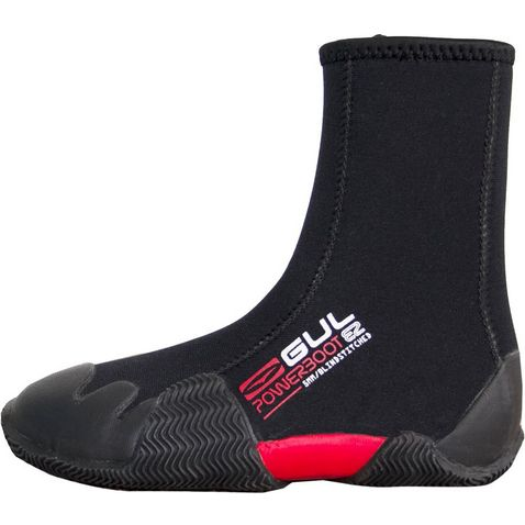 280a7b803254 Black-Grey GUL Junior Round Toe Zipped 5mm Power Boot. Quick buy