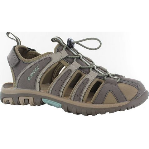 e3cf16e7 BROWN-TAUPE HI TEC Cove Closed Toe Men's Walking Sandal